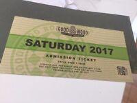 Goodwood Revival Ticket Saturday 9 September 2017 (General Admission)