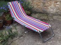 Sun Lounger (adjustable and folding)