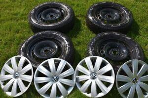 4 pneus d'hiver Ice Zero (Pirelli) 215/60/R16