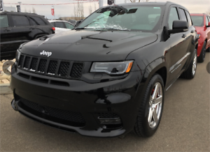 2017 JEEP GRAND CHEROKEE SRT WITH GORGEOUS BURGUNDY LEATHER !!