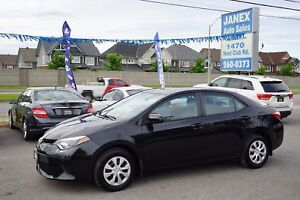 2014 Toyota Corolla CE Accident Free, Dealer maintained