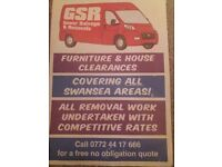 Removals.... GSR House clearances and removals. All removal work undertaken with competitive rates.