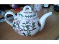 Portmeiron Botanic garden large teapot