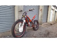 gasgas 300 txt pro trials bike road registered (not sherco, beta, gas gas, trails)
