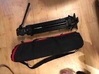 Bargain Manfrotto 501hdv Fluid head + Manfrotto 546GB legs tripod + Bag