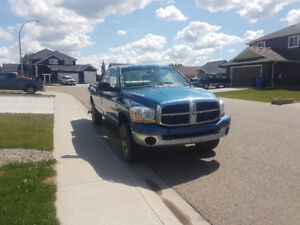 2006 Ram 3500 SLT SRW 4x4 5.9L 6 speed manual