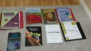 2nd Year Biology and Chem Textbooks