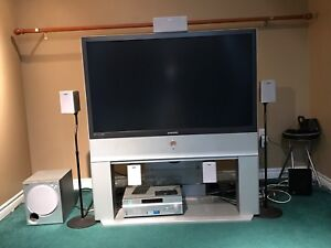 50 inch DLP TV and Home Theatre