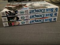 Blue exorcist vol 1-6 £30