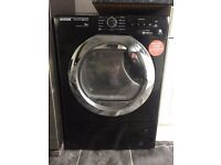 Hoover AquaVision Tumble Dryer Black; great condition, only few months old
