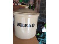 Bread Bin Porcelein