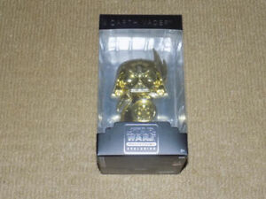 FUNKO, GOLD DARTH VADER STATUE, STAR WARS, SMUGGLER'S BOUNTY