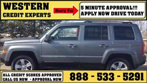 2011 Jeep Patriot North Edition 4x4 Shift-on the-Fly!!! $135 B/W