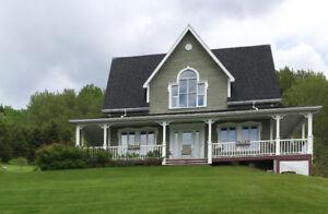 Maison style canadien vue Fjord