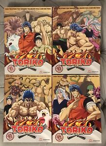 Toriko - all 4 parts - anime tv series dvd