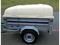 Trailer 5 ft x 3 ft hard top spare wheel