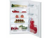 BRAND NEW INTEGRATED BUILT-IN FRIDGE - HOTPOINT HS1622 STILL BOXED - COST £249.99 - ACCEPT £150