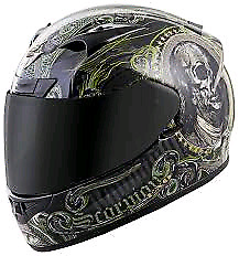 XL Scorpion R710 illuminati Helmet