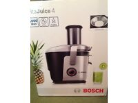 Healthy top of the range Bosch Vitajuice 4 large capacity 1.5litre jug dishwasher safe ceramic knife