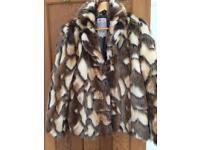 River island brand new fur coat