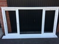 New Upvc window & glass