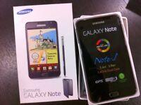 Samsung galaxy note 1 brand new box warranty