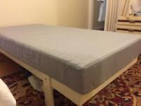 Single bed frame for sale Ikea mattress