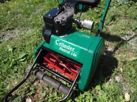 Qualcast 14 inch cylinder petrol lawnmower