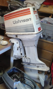 70 HP Johnson outboard
