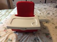 """Cuggl Infant Booster Seat """"Portable Highchair"""" (Fits On Most Dining Chairs)"""