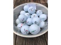 Golf Balls Wilson x 25 A Grade Golf Balls, LOT 3