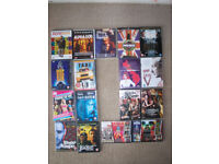 dvds various ratings 50p each or 3 for £1.00