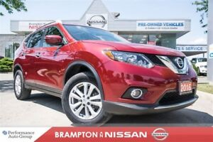 2016 Nissan Rogue SV *Rear view monitor|Heated seats|Sunroof*