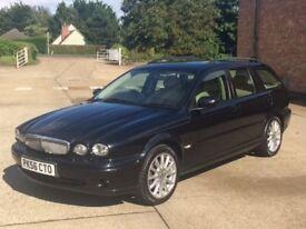 Jaguar X-Type Classic 2.0D (2006) 91,500 Miles - Diesel/Manual - 5 door Estate - FSH - Warranty