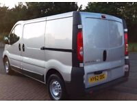 RENAULT TRAFIC 2.0 115 DCI, 2012 62, NO VAT, READY FOR WORK, 1 FORMER KEEPER, SERVICE HISTORY