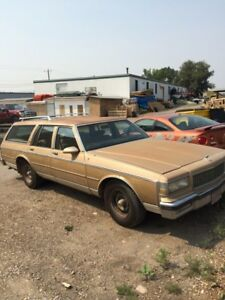 1987 Chevrolet Caprice estate wagon low Kms