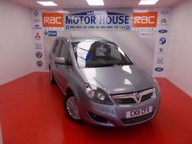 Vauxhall Zafira (EXCITE CDTI ECOFLEX) FREE MOT'S AS LONG AS YOU OWN THE CAR!!!! (silver) 2011