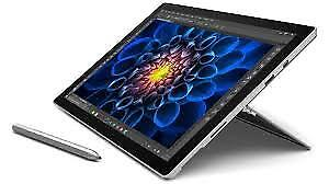 Surface Pro 4 i5 128 Gb w/keyboard, Pen & Charger.