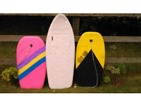 Surf / Bodyboards x3 grab a BARGAIN on your way to the coast