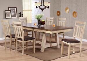 RUSTIC LAKESIDE Dinette Set @ Yvonne's Furniture