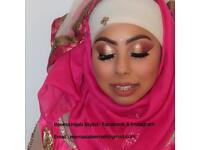 Asian wedding/party/bridal Hijab styling