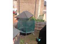 TRAMPOLINE WITH ENCLOSURE FOR SALE