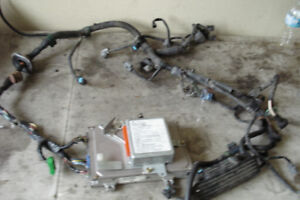 96-98 HONDA CIVIC D16Y8 VTEC 5 SPEED ENGINE HARNESS OBD2A