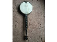 Old Barnes and Mullins banjo