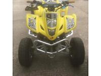 Ltz 400 road legal quad