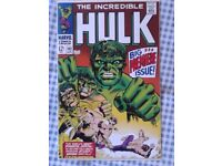 Hulk 102, 180, 181, New Mutants 87, 98 low price affordable comics