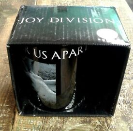 Brand new retro Joy Division, Love Will Tear Us Apart, mugs, Punk, Post Punk Ian Curtis