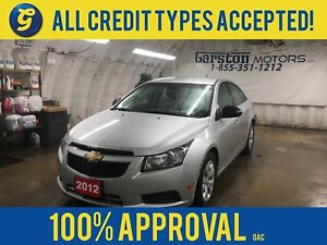2012 Chevrolet Cruze KEYLESS ENTRY*ON STAR PHONE CONNECT*AM/FM/X