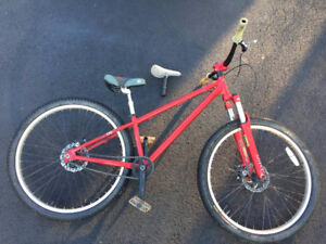 Norco Havoc dirt jumping bike (2008 but with new frame)