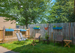 ENJOY YOUR OWN BACKYARD TO BBQ IN!